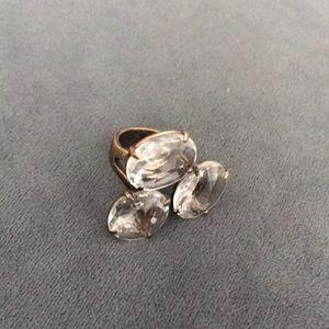 Jcrew cluster stone ring
